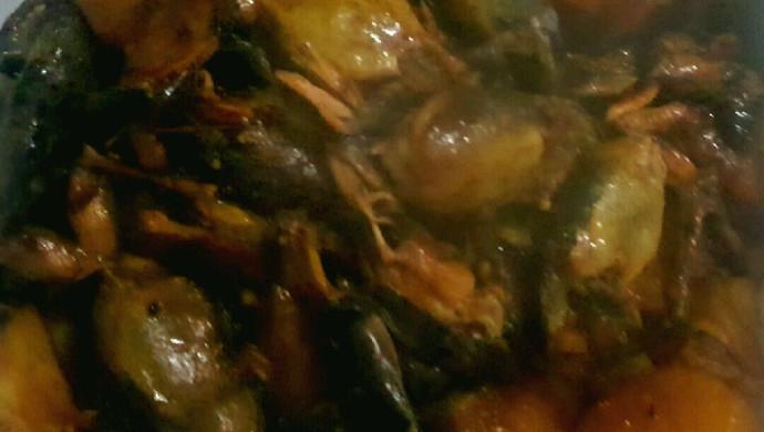 雪蛤烧土豆