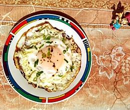 #餐桌上的春日限定#卷心菜鸟巢蛋的做法