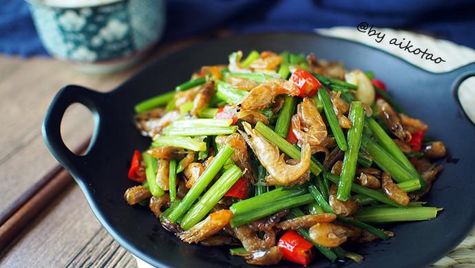 下饭菜|韭花炒河虾