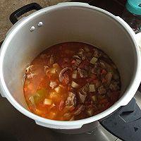 西红柿炖牛腩(汤很好喝哦)的做法图解9