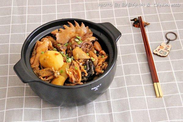 家庭版梁山鸡#金龙鱼外婆乡小榨菜籽油 最强家乡菜#的做法