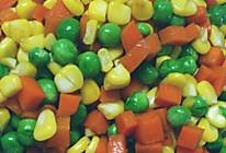 玉米萝卜豌豆的做法