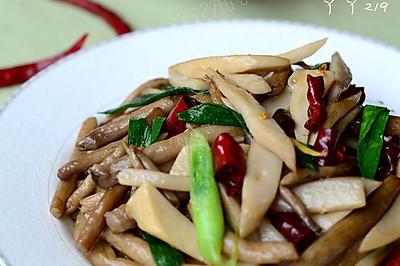 【蚝油炒双菇】——美味素食也能秒杀你的味蕾