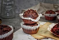 巧克力麦芬蛋糕#2018年我学会的一道菜#的做法