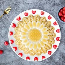 向日葵椰汁千层马蹄糕