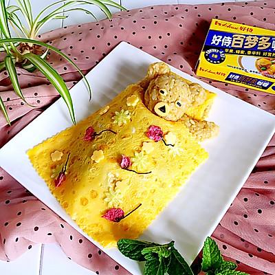 小熊咖喱牛肉蛋包饭