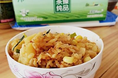 香喷喷的土豆焖饭