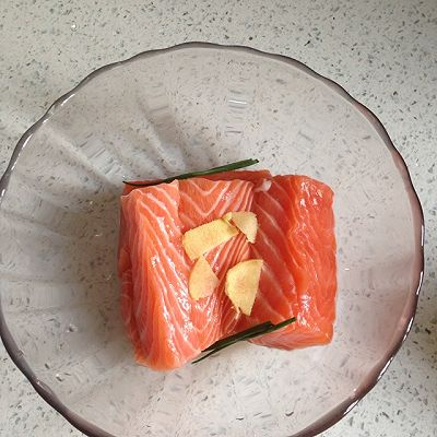 三文鱼鱼松的做法 步骤2