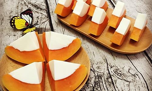 好吃易做的木瓜鲜奶冻的做法