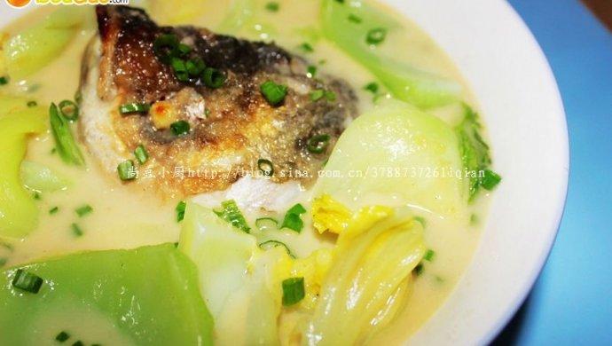 大芥菜鱼头汤