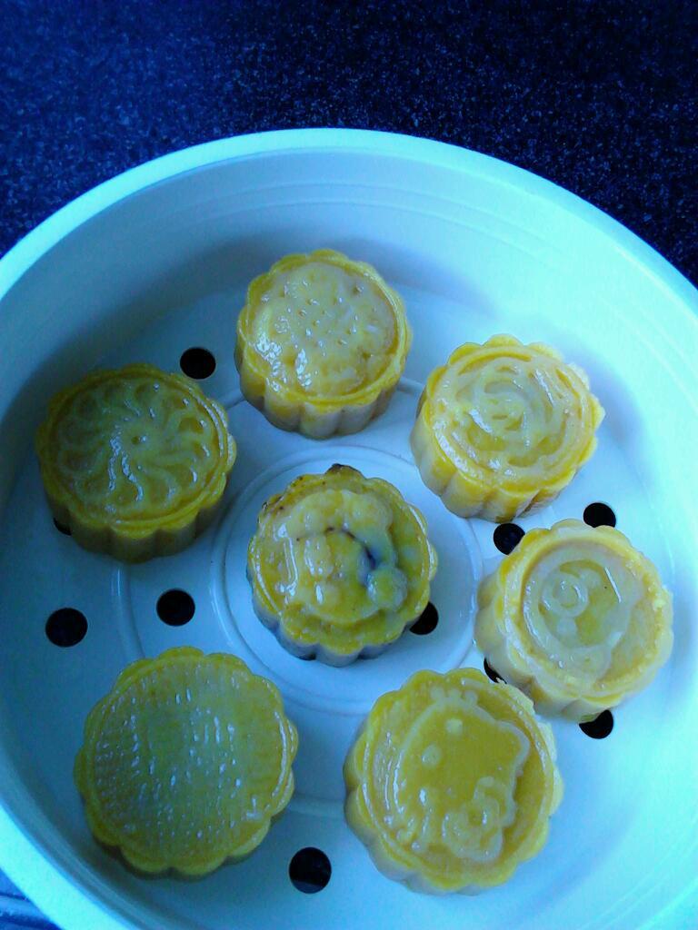 南瓜月饼的做法图解5