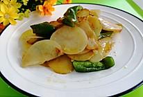 #夏日消暑,非它莫属#青椒土豆片的做法