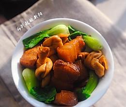 百叶结烧肉#膳魔师地方美食大赛(上海)#的做法