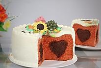 丝绒巧克力夹心蛋糕#一机多能 一席饪选#的做法