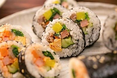 【紫菜包饭】换个方法吃白米饭,想拒绝都难!