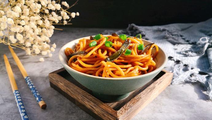葱油拌面~简易版#520,美食撩动TA的心!#