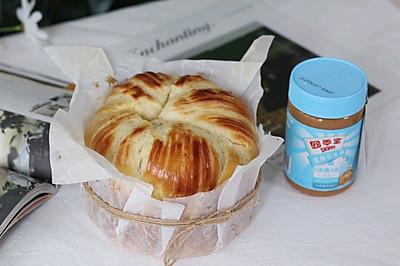 花生酱手撕面包,营养又美味