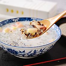 椰浆珍珠藜麦水果捞