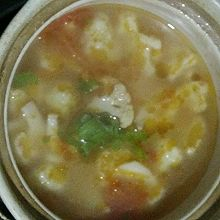 西红柿花菜汤