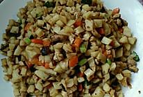 藕米炒鸡米的做法