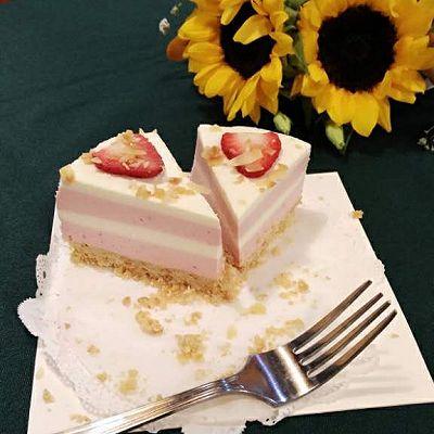 霓虹慕斯蛋糕