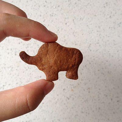 巧克力饼干(少黄油)