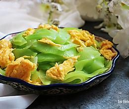 春季养生瘦身快手菜|莴笋炒鸡蛋#美的女王节#的做法