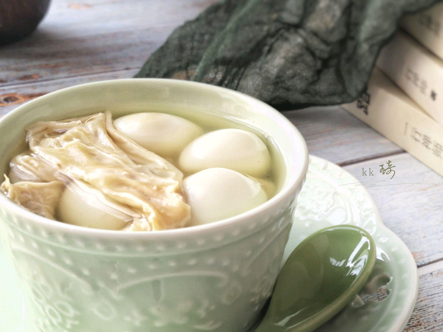 做法蛋咸肉大全的腐竹图解6糖水大全粥的香菇做法做法家常鹌鹑图片