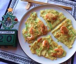 北极虾角瓜饼的做法