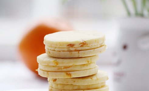 香橙乳酪夹心饼干的做法