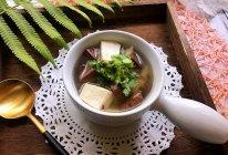 #秋天怎么吃#猪血豆腐汤的做法