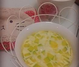 牛奶南瓜炖蛋的做法