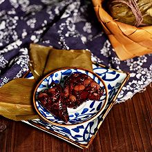 #甜粽VS咸粽,你是哪一黨?#蜜豆粽