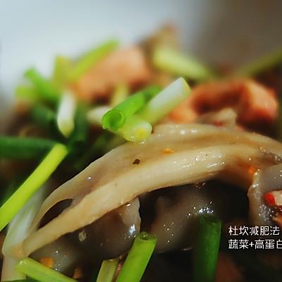 纯食疗暴瘦35斤减肥记——蔬菜+蛋白质食谱篇