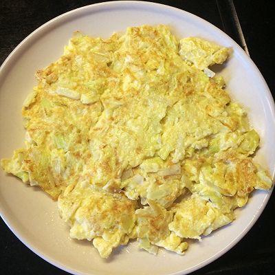 韭黄炒蛋(有点特别版)
