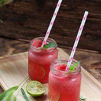 西瓜青柠饮#自己做更健康#的做法图解9