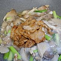 青蒜肉片炒鲜蘑的做法图解13