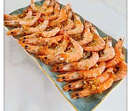 鲜虾蒸面的做法