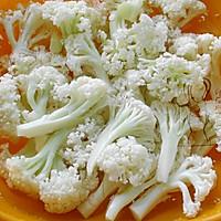 咖喱烤菜花 #Gallo橄露橄榄油#的做法图解2