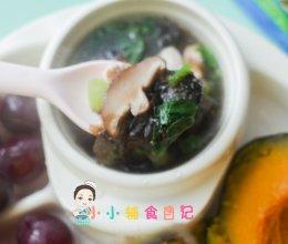 12个月以上紫菜鸡肉汤的做法
