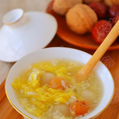 甜酒桂圆冲鸡蛋—冬季暖身