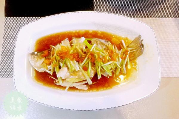 清蒸鲈鱼:15分钟搞定美味蒸鱼图解的做法