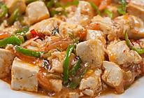 西红柿青椒烩豆腐的做法
