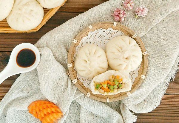我的营养早餐---豆腐胡萝卜素包的做法