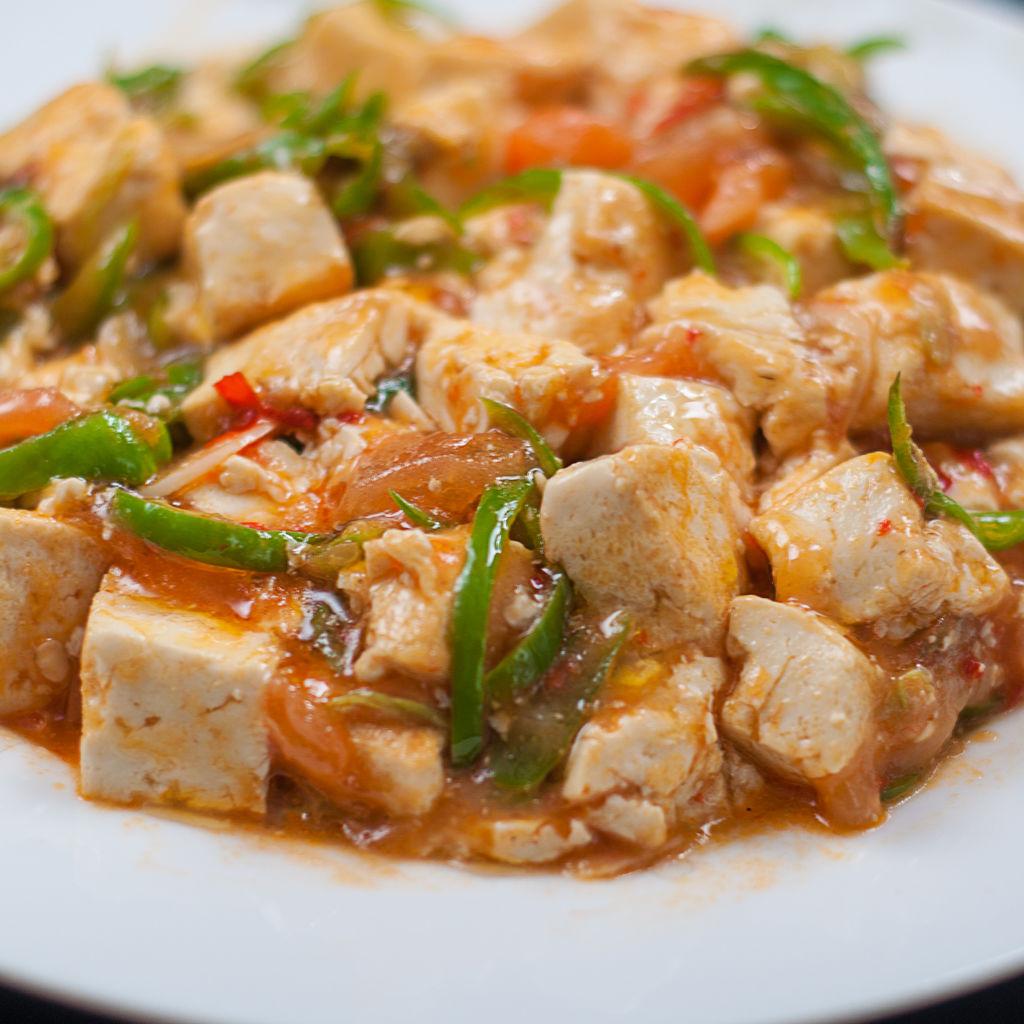 西红柿菜谱烩做法的厨房a菜谱怎么青椒豆腐获得图片