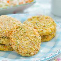 杂蔬米饼的做法图解9