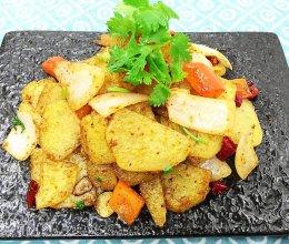 美味下饭|简单快手的孜然土豆片的做法