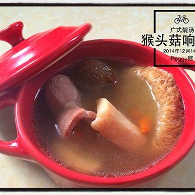 【冬日暖汤】猴头菇响螺瘦肉汤