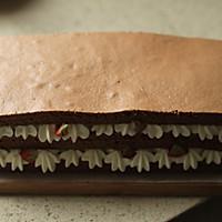~巧克力裸蛋糕~的做法图解23