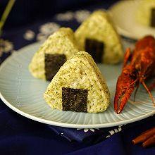 #最爱盒马小龙虾#小龙虾三角饭团